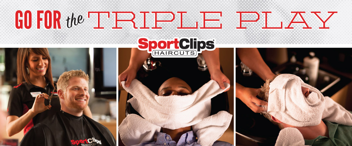 The Sport Clips Haircuts of Bradenton  Triple Play